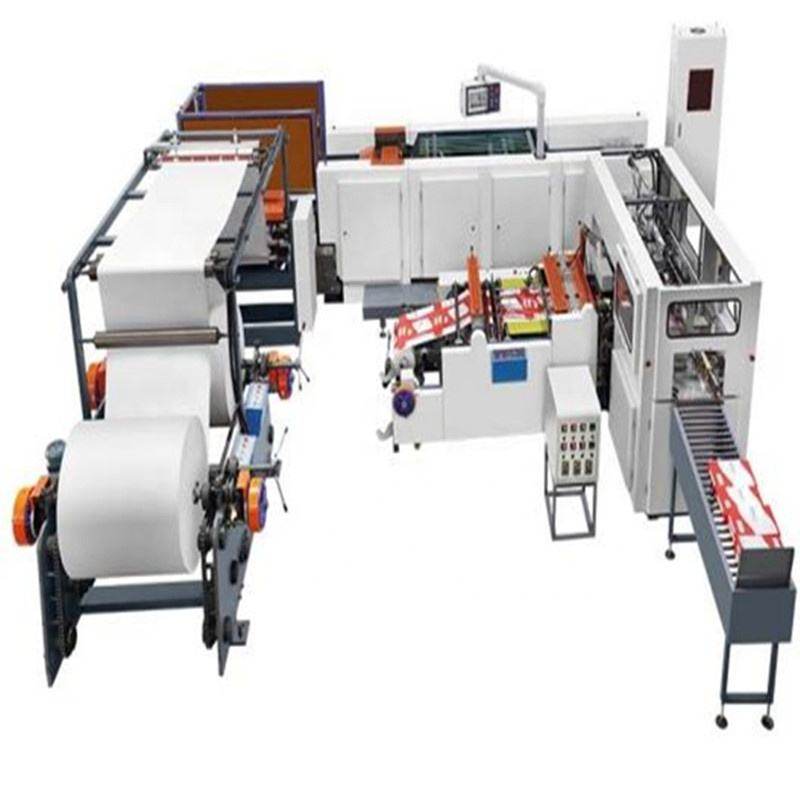 Automatic Jumbo Roll To Sheet A4 Paper Cutting Packaging Machine Production line