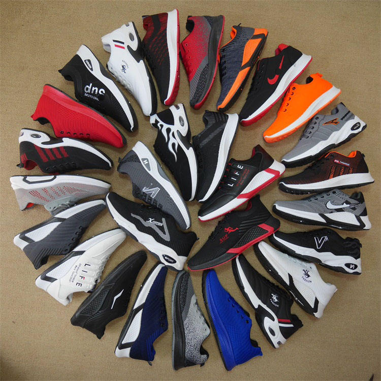 MH8231 Bulk Wholesale sports shoes mixed type used shoes second hand for men Shoes stock