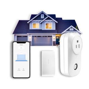 App remote monitoring and controlling smart wifi garage door opener