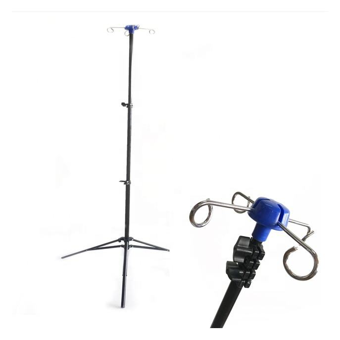 M-IV1 Portable Foldable IV Pole Stand For Hospital Patient Use