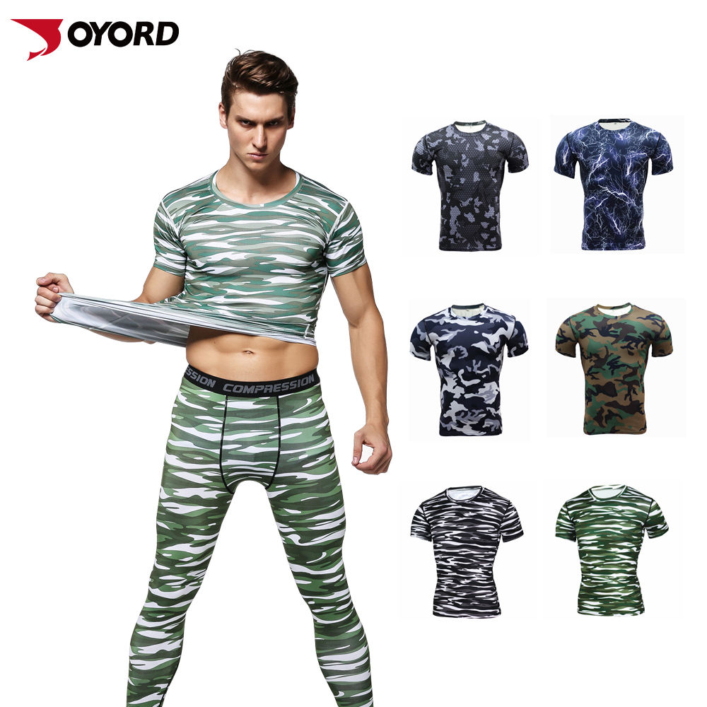 Wholesale Shirt Gym Rashguard Men Short Sleeve Camiseta Fitness Clothing Sublimated Printed Outdoors Custom MMA Rash Guard