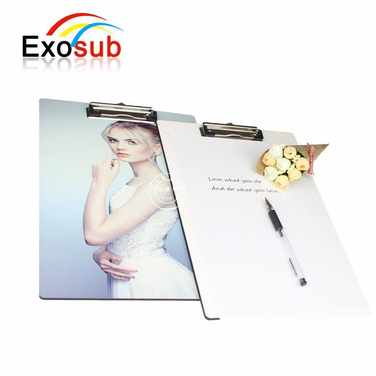 White clip board clamps clipboard China for student