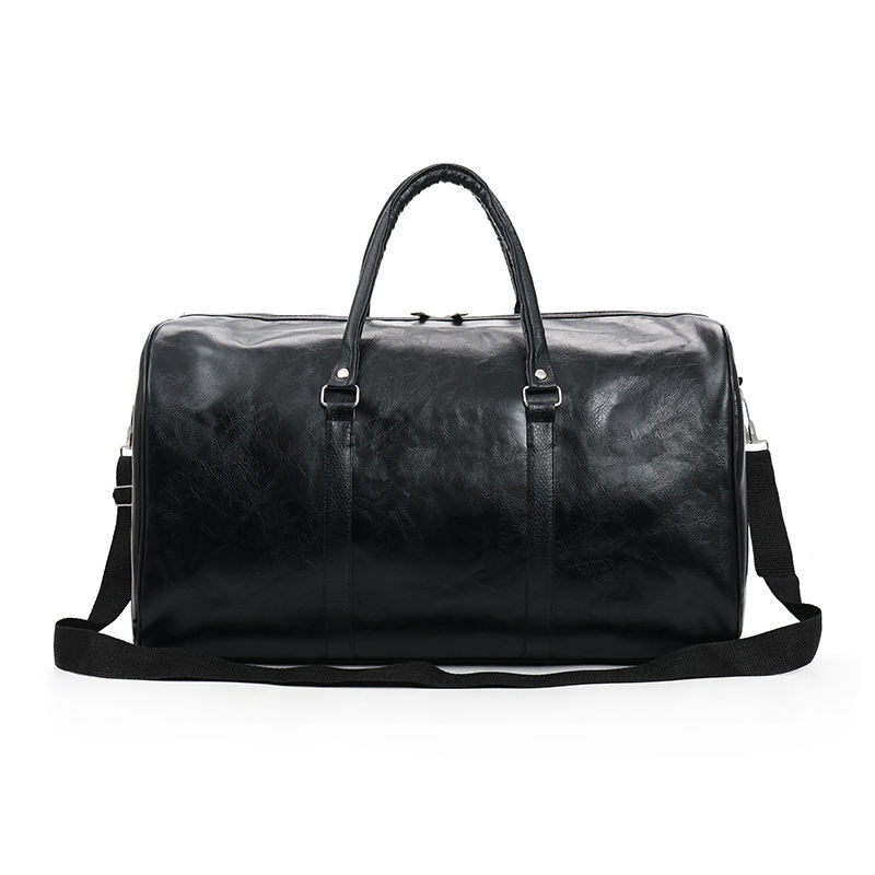 custom leather mens travel duffle bag large waterproof gym bag sport for women