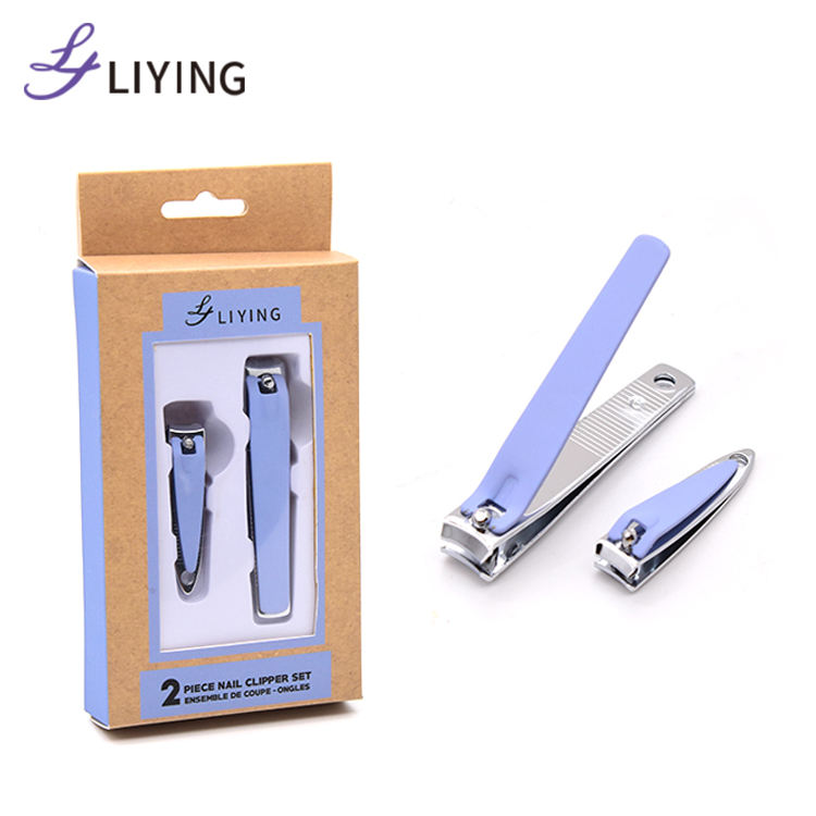 LIYING Hot selling Christmas gift custom logo sharp manicure set toe nail clippers for thick toenails