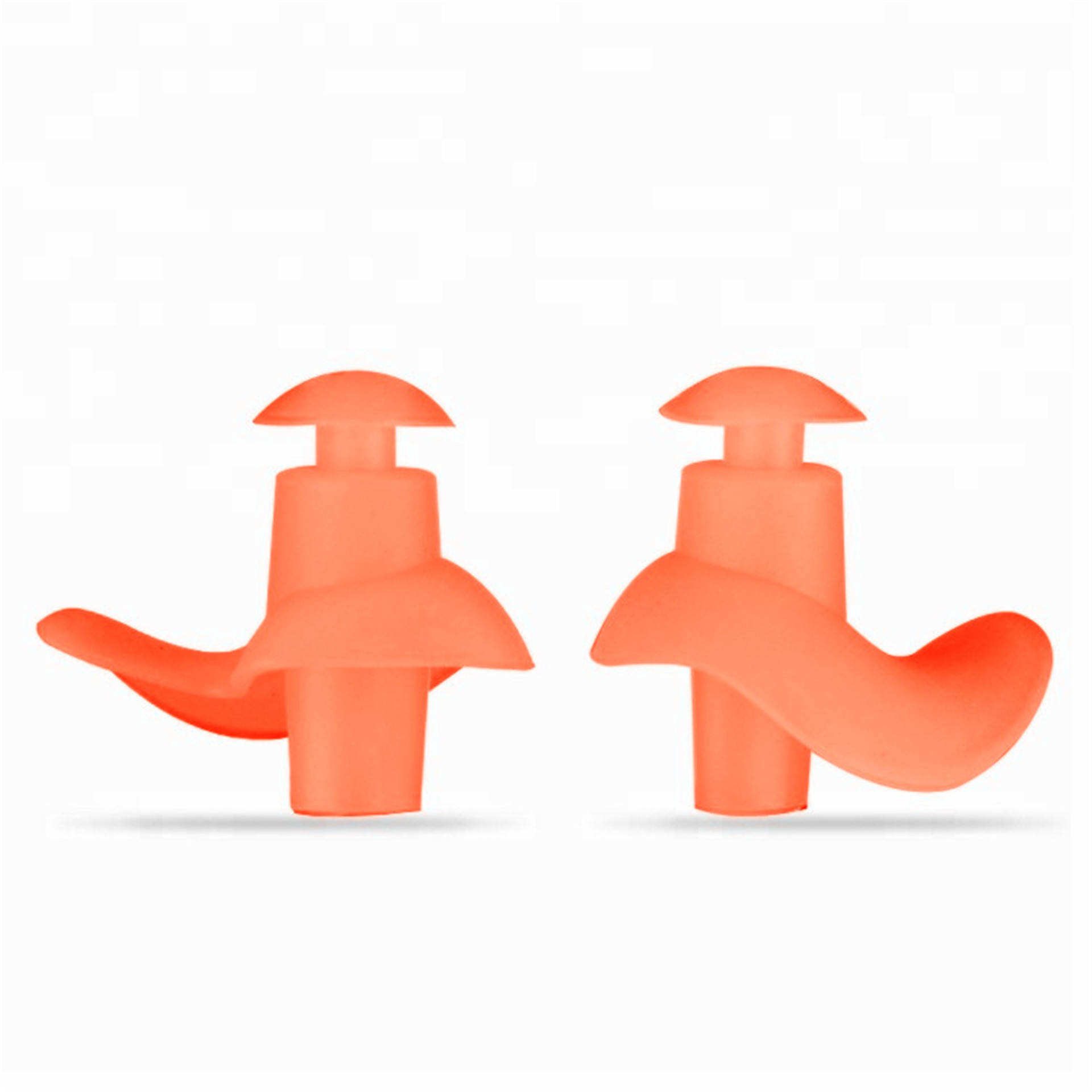 Wholesales Soft earplugs waterproof silicone swimming Earplugs for water sports