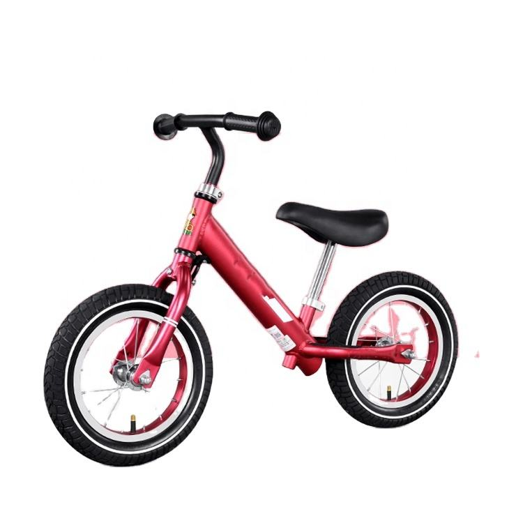 Aluminum alloy balance bike without brake/exercise walking bicycle/ paddle less bikes kids sliding cycle
