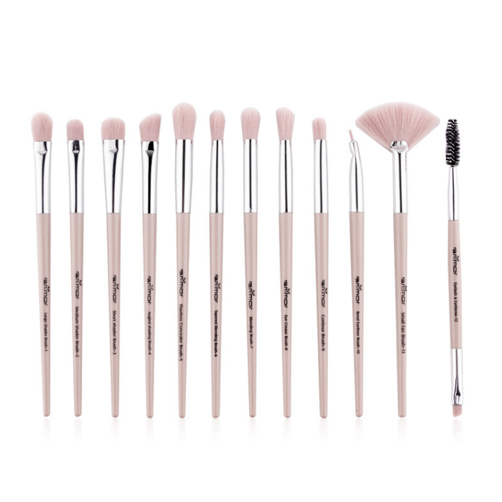 Anmor Brush Sets-12 PCs Makeup Brushes for Foundation