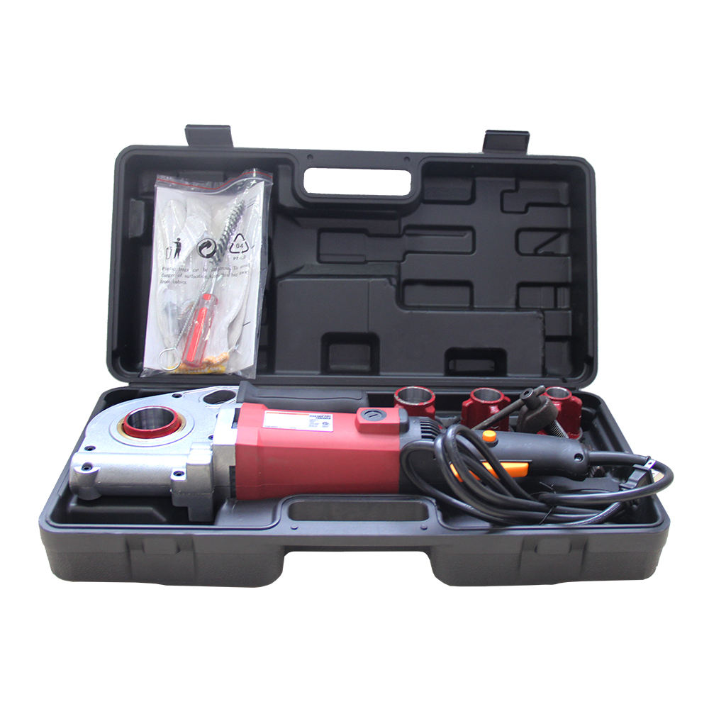 2020 High Quality GMTE-03 2000W Red Manual Electric Pipe Threader