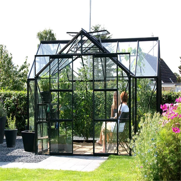 Aluminum Hexagon Octagonal Octagon Aluminium Winter Garden Sun Room Glass Conservatory Sunroom Green House