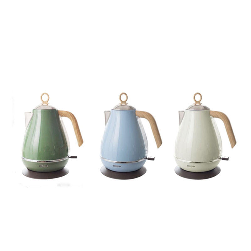 2020 Kitchen Appliance Gift Box Logo OEM Commercial High Quality 1.7L Vintage Style Electric Kettle