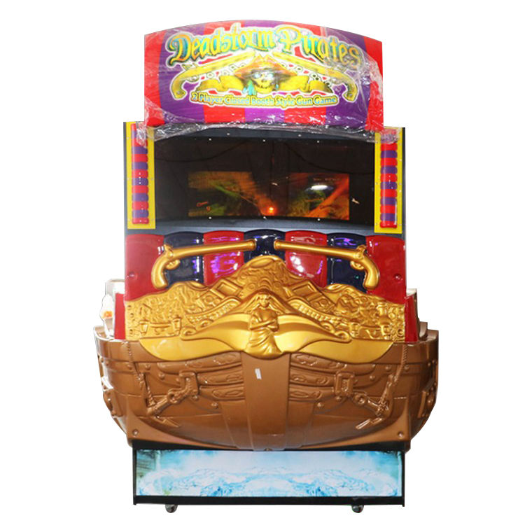 Groothandel Arcade Machines Simulator Coin Game Machine Deadstorm Piraat Shooting Game voor Indoor Game Center