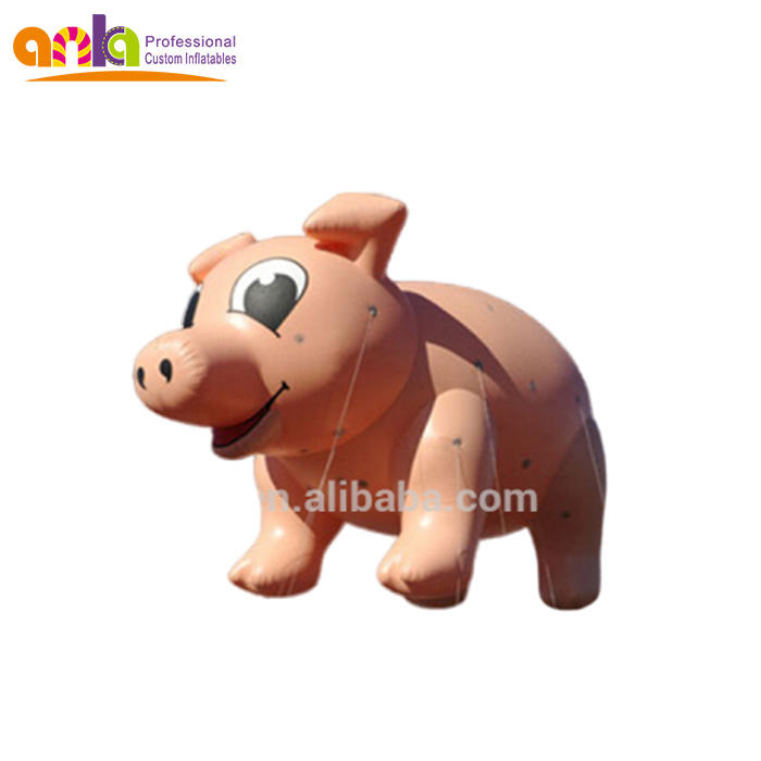 Commercial giant cartoon balloon type inflatable pig helium balloon price advertising