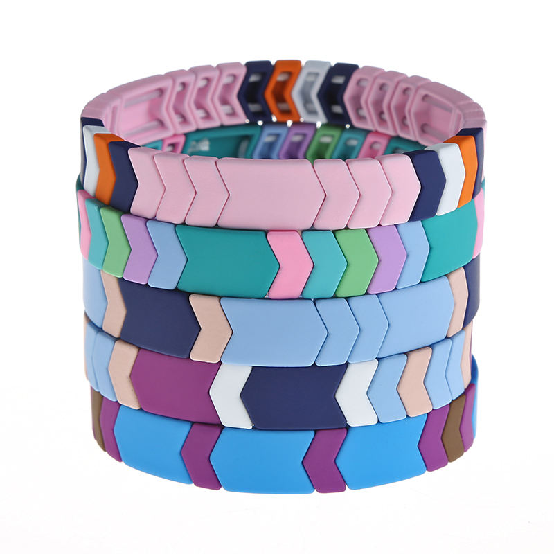 Custom Printing Rubber Wristbands Arrow Bracelet