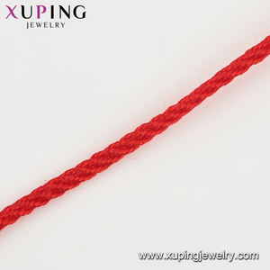 77051Xuping Chinese ancient legend moon old red thread marriage couple rope bracelet