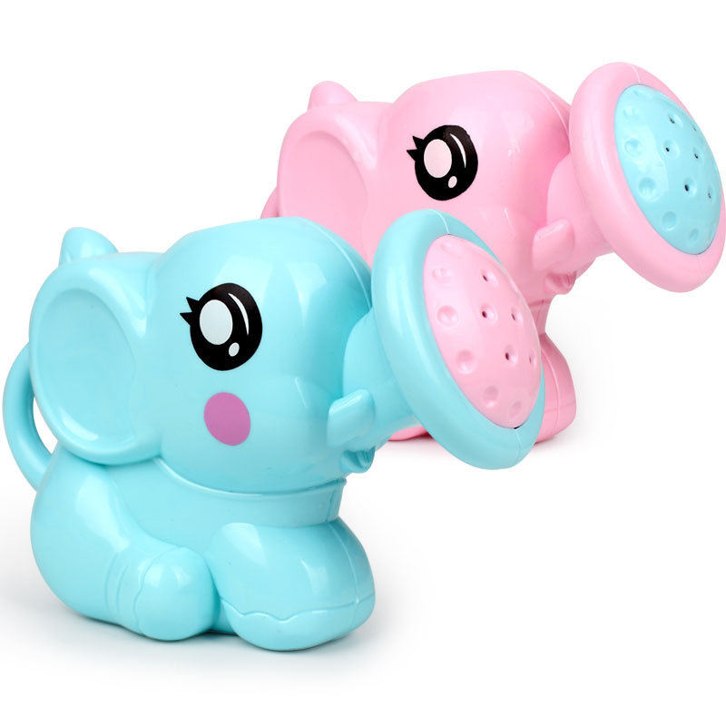 Baby Bath Toy Custom Plastic Animal Elephant Shower Swimming Bathtub Toys for Kids