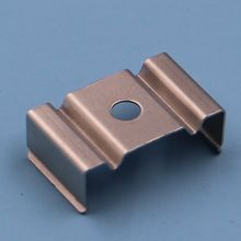 China stamping factory support custom small metal flat spring clips
