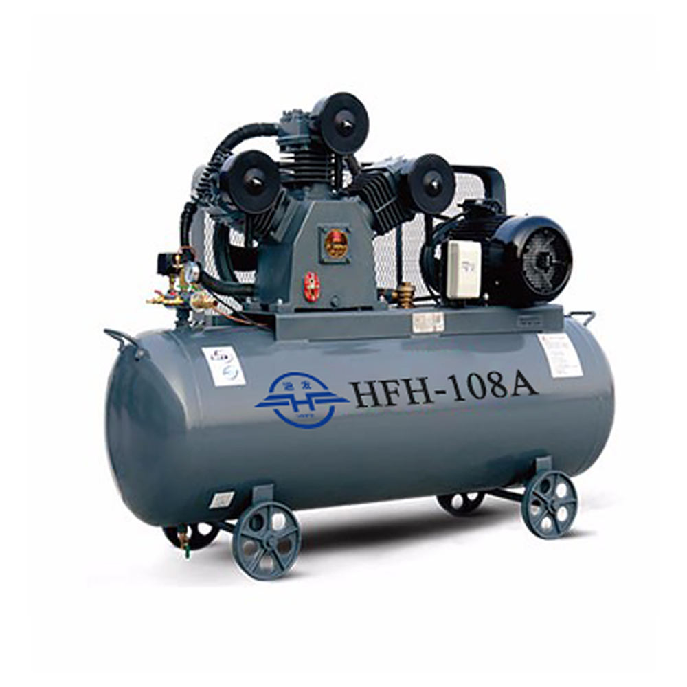High fructose corn syrup series air compressor with splash lubrication belt