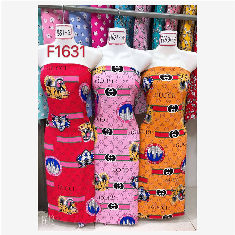 wholesale pigment printed spun rayon printed 30*30 68*68 cartoon design woven fabric factory in keqiao