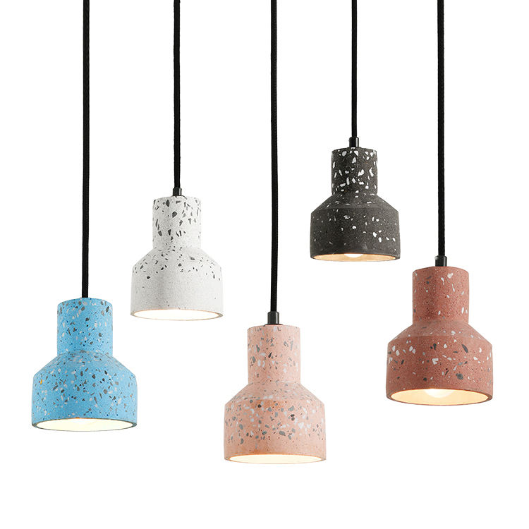 2020 Hot Sale simple design modern coffee shop restaurant lighting e27 cement pendant light
