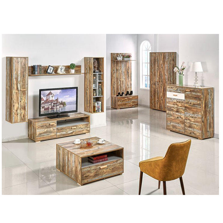 Tv Units Modern Cabinet Home Furniture Wall Set Entertainment Unit 75 Inch Corner 1 Piece Stand Living Room Station Wood