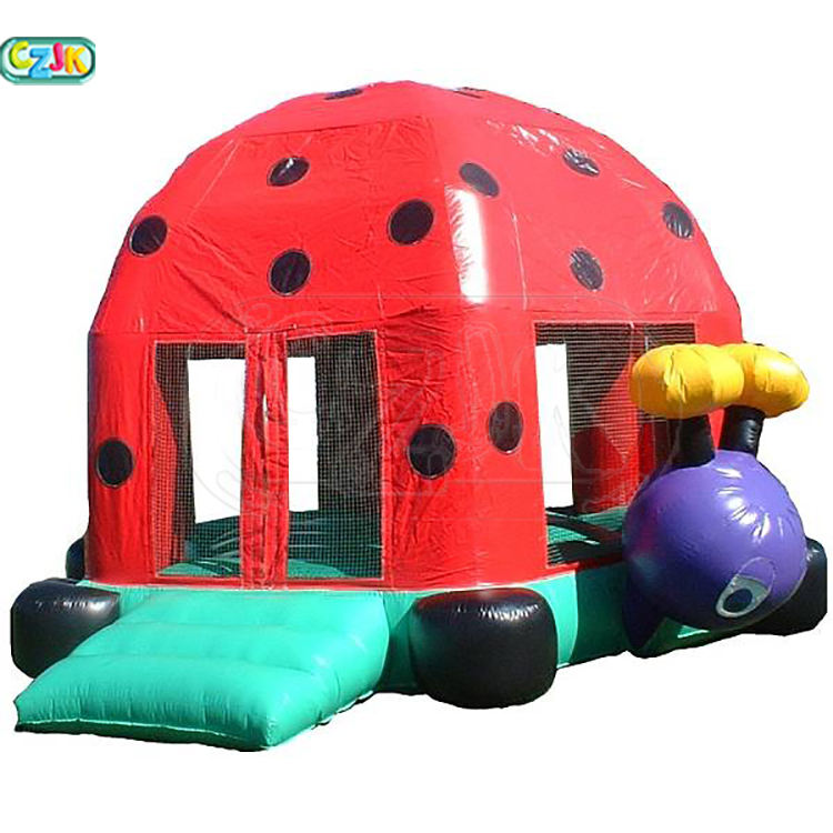 hot sale cheap kid indoor mini inflatable ladybug bouncy castles