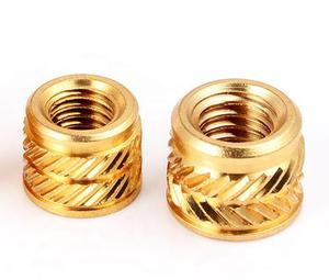 Custom M3 Brass Plastic Knurled Thread Insert Nut ABS Heat Insertion