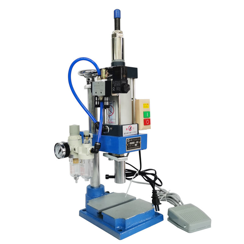 500Kg Type Controller Double Button Pneumatic Punching Machine Design Punch Orbital Riveting Machine Benchtop