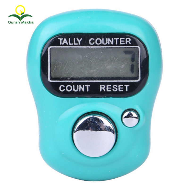 Quranmakka Islamic Finger Tasbeeh Plastic Digital Tally Counter for Muslim