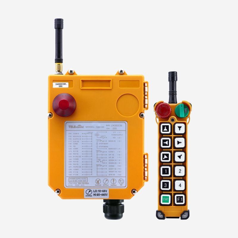Uting F24-12D fast delivery wireless crane control remote radio switch controller