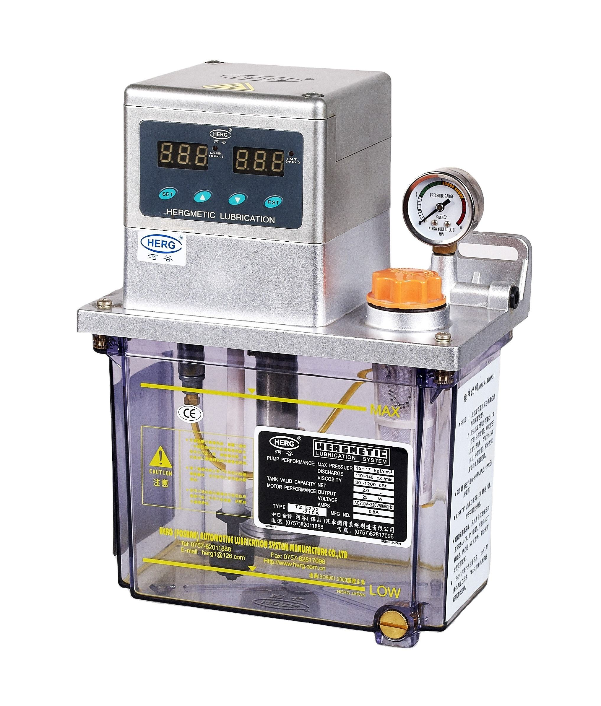 automatic grease Lubrication system for bearing