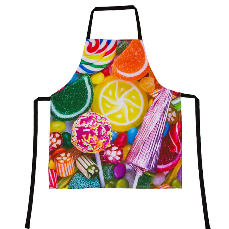 digital apron chef uniform for food industry