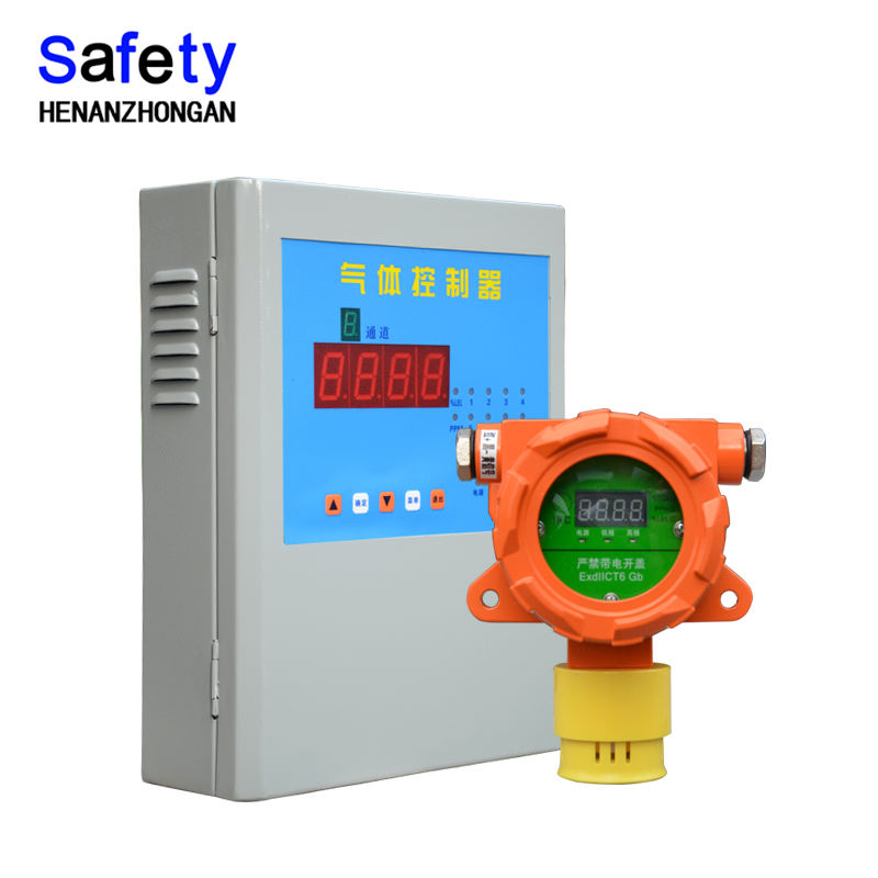 gas detector products supply wall mounted alarm fixed h2s gas detector