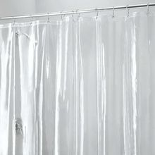 Mildew resistant anti-bacterial clear PEVA shower curtain liner 72x72 inch