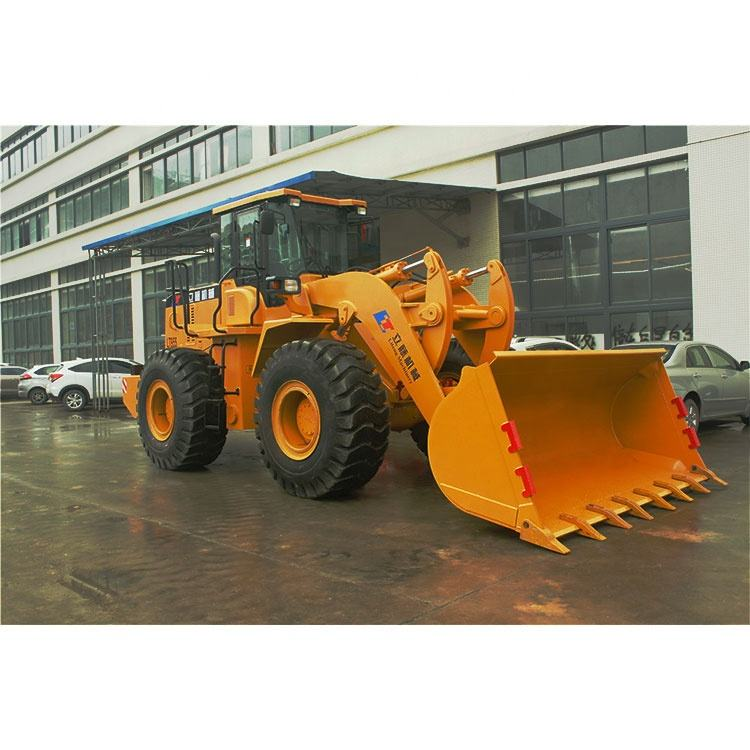 Multifunctional Compact 5t Wheel Telescopic Boom Loader