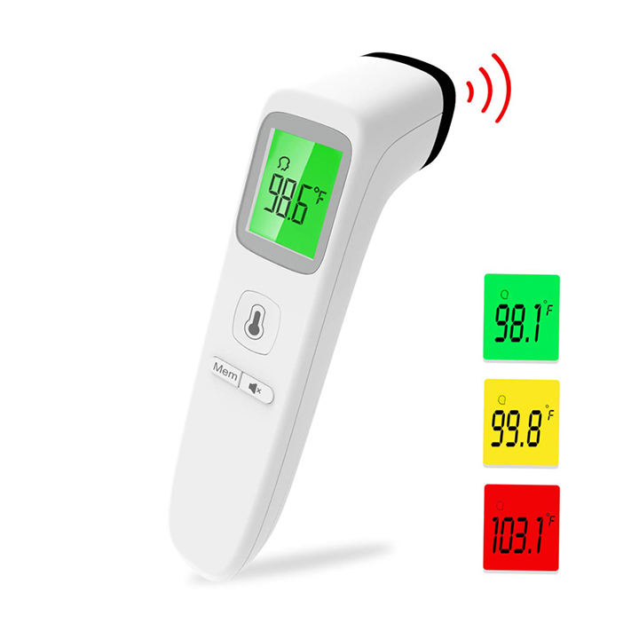 CE/FDA approved head non contact ir infrared thermometer digital infrared body thermometer