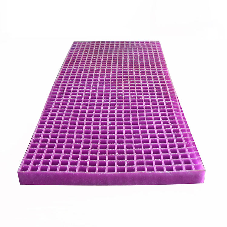 Purple mattress gel breathable human engineering intelligent mattress