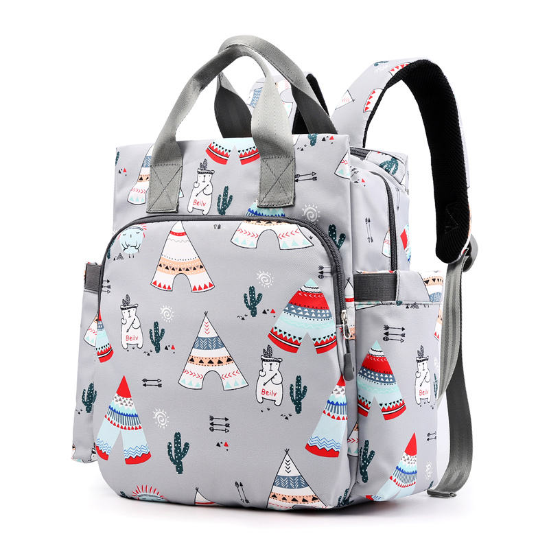 High quality mommy travel bag luggage strap baby maternity waterproof diaper backpack bags for mother