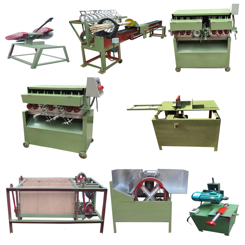 Factory Price Raw Material Bamboo Tooth Picker Processing Line Equipment BBQ Incense Stick Making Machine To Make Toothpicks