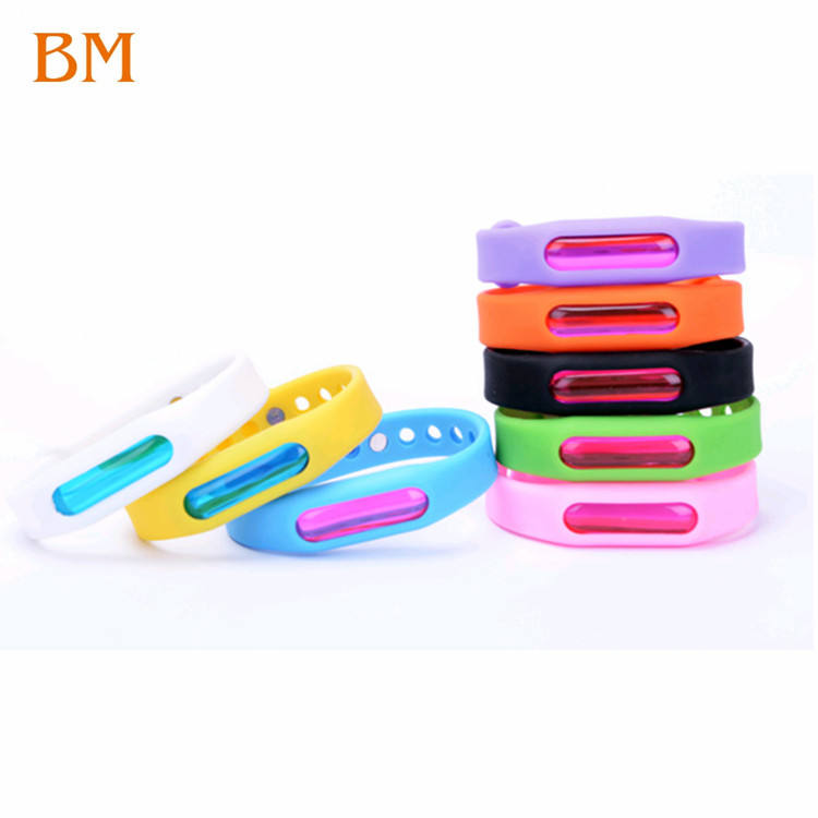 Pest insect control silicone bracelet for mosquitoes effective adult cheap kids anti mosquito band mosquito repellent bracelet