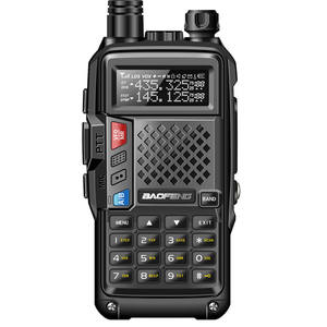 BAOFENG BF-UVB3 PLUS High Power UHF/VHF Dual Band 10KM Lange Palette Thickenbattery Walkie Talkie Mehrere Lade Modus