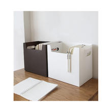 Foldable Plastic Storage Box Bins Document Storage Box
