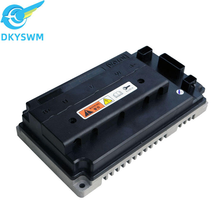 VOTOL brushless dc scooter motor motor sinusoidal mute motor controller FOC scooter parameters can be adjusted