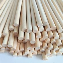Pure White Birch Wooden Dowel Rods For Make Up Makeup Brush  Handle