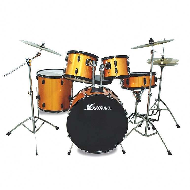 Excellent Quality Cheap Professional Full Size Musical Instruments Lower Jazz Drum Set Drum Kit Price
