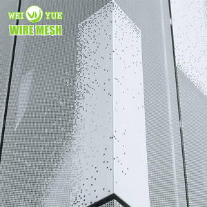 Exterior Decorative Perforated Aluminum Wall Cladding Panels for Facade