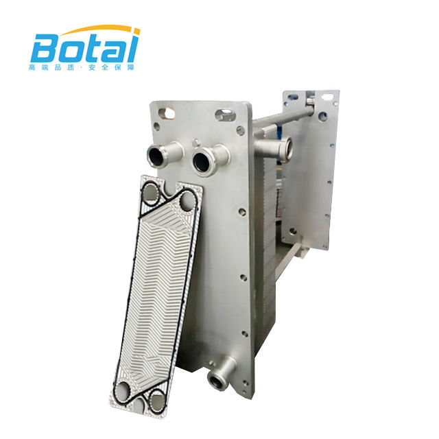 OEM Stainless Steel Cooling Juice Plate Heat Exchanger For Sale