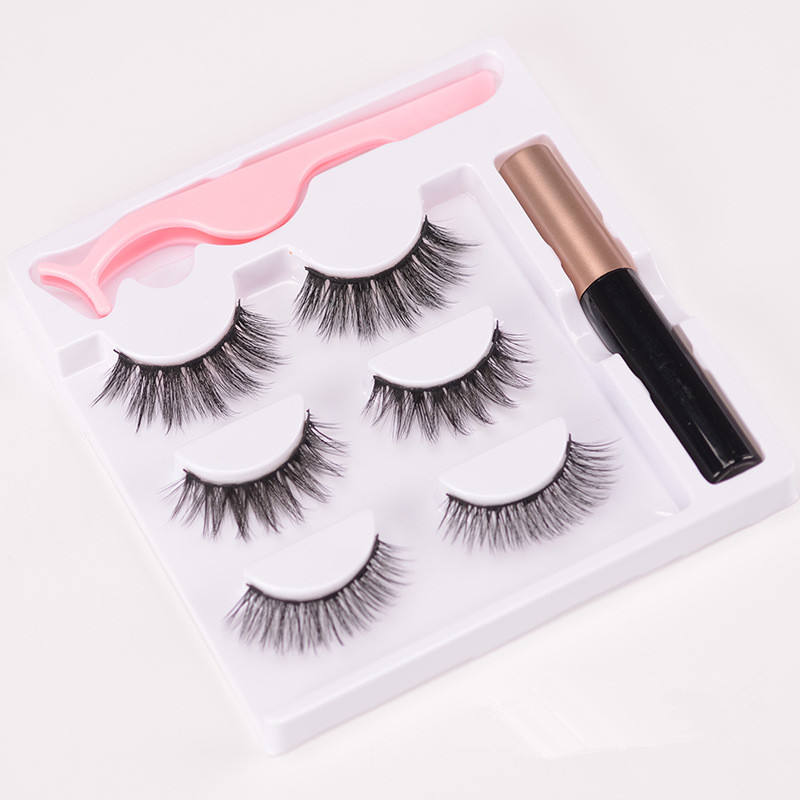 Extension Eyelash High Quality Magnetic Lahes 3 Pairs Eyelash Vendors Eyelashes For Women Eyelash Extension