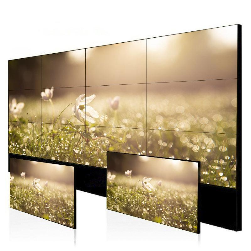 Hd senza soluzione di continuità display elettronico pubblicità ultra sottile parete video lunetta <span class=keywords><strong>lcd</strong></span>