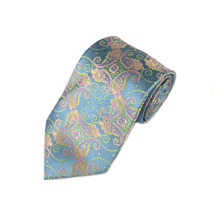 China Latest Fashion Custom Private Label Handmade Beautiful Men'S Silk Tie