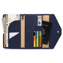 Fashionable Cheap Rfid Blocking Travel Passport Holder